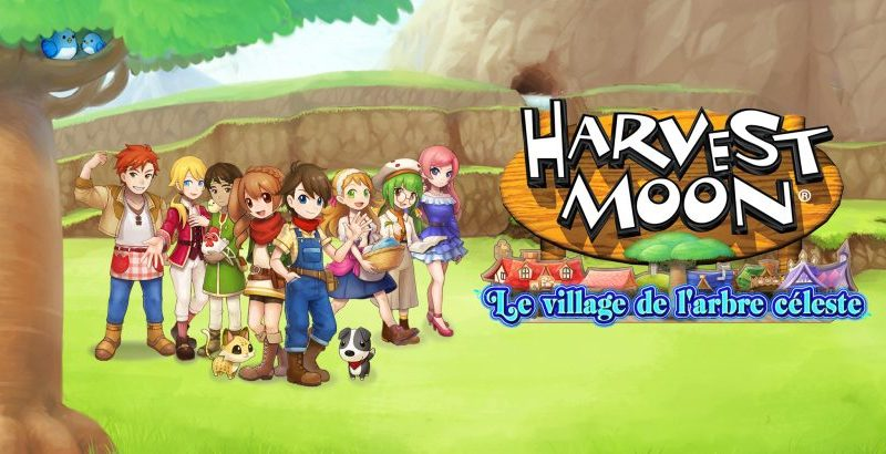 Harvest Moon, the village of the heavenly tree
