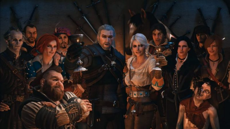 The Witcher blows its 10 candles on video