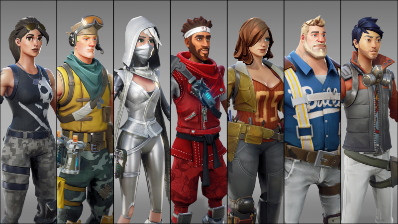 Launch day for Epic Games' Fortnite. The opportunity to discover a brand new trailer for this title with great potential.