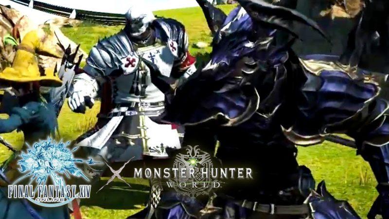 Trailer for the arrival of Monster Hunter World in Final Fantasy XIV